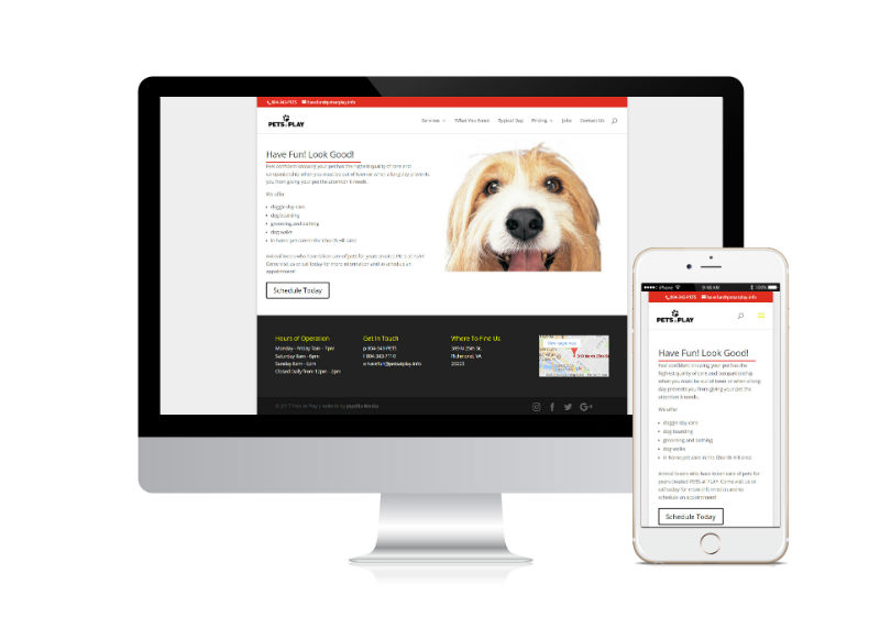 Pets At Play on Desktop and Mobile