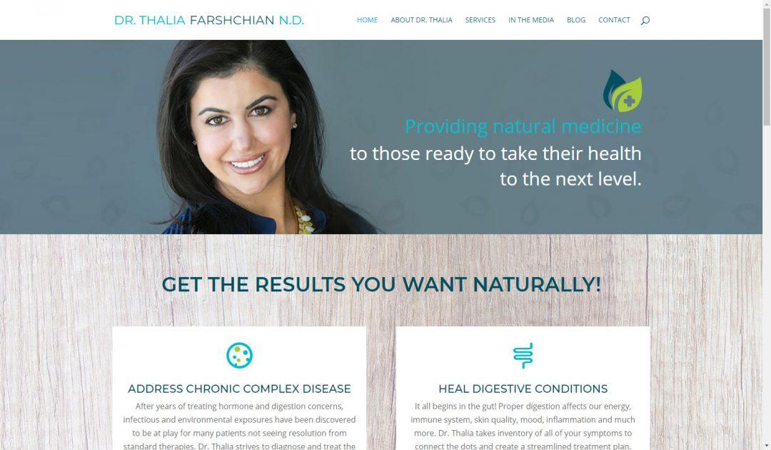 Dr. Thalia Farshchian